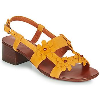 Cipők Női Szandálok / Saruk Chie Mihara QUESIA Citromsárga