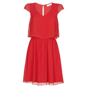 Ruhák Női Rövid ruhák Naf Naf NEW JOEY Piros
