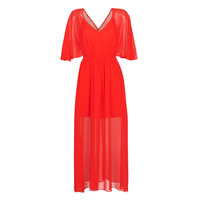 Ruhák Női Hosszú ruhák Naf Naf CAMILLE R1 Piros