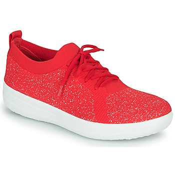 Cipők Női Rövid szárú edzőcipők FitFlop F-SPORTY UBERKNIT SNEAKERS Piros