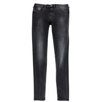 Ruhák Lány Slim farmerek Pepe jeans PAULETTE Fekete