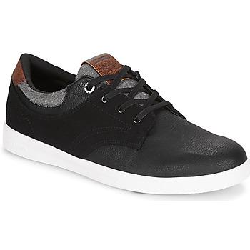 Cipők Férfi Rövid szárú edzőcipők Jack & Jones SPENCER COMBO Fekete