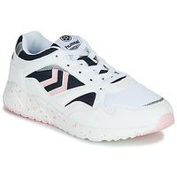 Cipők Női Rövid szárú edzőcipők Hummel EDMONTON Fehér