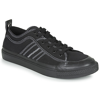 Cipők Férfi Rövid szárú edzőcipők Diesel S-ASTICO LOW Fekete  / Fehér