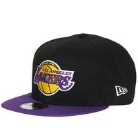 Textil kiegészítők Baseball sapkák New-Era NBA 9FIFTY LOS ANGELES LAKERS Fekete  / Lila