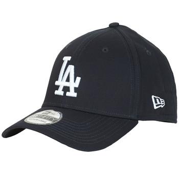 Textil kiegészítők Baseball sapkák New-Era LEAGUE BASIC 39THIRTY LOS ANGELES DODGERS Fekete  / Fehér