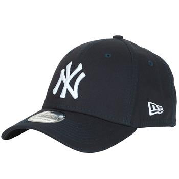 Textil kiegészítők Baseball sapkák New-Era LEAGUE BASIC 39THIRTY NEW YORK YANKEES Tengerész / Fehér