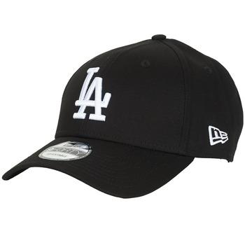Textil kiegészítők Baseball sapkák New-Era LEAGUE ESSENTIAL 9FORTY LOS ANGELES DODGERS Fekete  / Fehér
