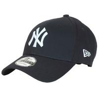 Textil kiegészítők Baseball sapkák New-Era LEAGUE BASIC 9FORTY NEW YORK YANKEES Tengerész / Fehér