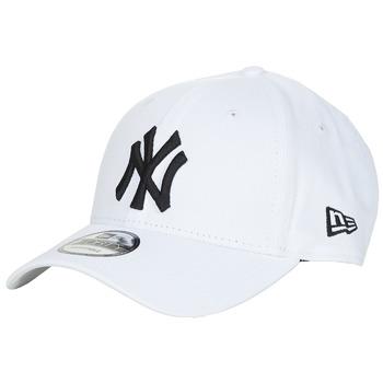 Textil kiegészítők Baseball sapkák New-Era LEAGUE BASIC 9FORTY NEW YORK YANKEES Fehér / Fekete
