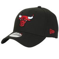 Textil kiegészítők Baseball sapkák New-Era NBA THE LEAGUE CHICAGO BULLS Fekete  / Piros