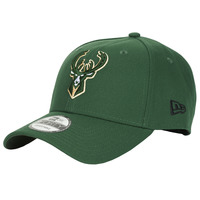 Textil kiegészítők Baseball sapkák New-Era NBA THE LEAGUE MILWAUKEE BUCKS Zöld