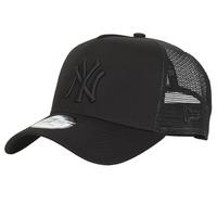 Textil kiegészítők Baseball sapkák New-Era CLEAN TRUCKER NEW YORK YANKEES Fekete