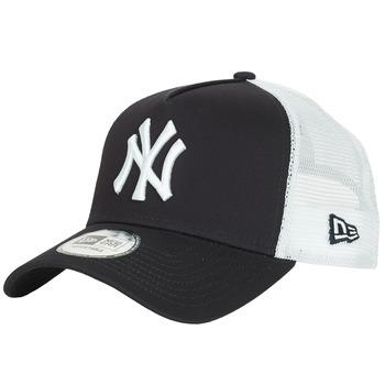 Textil kiegészítők Baseball sapkák New-Era CLEAN TRUCKER NEW YORK YANKEES Tengerész / Fehér