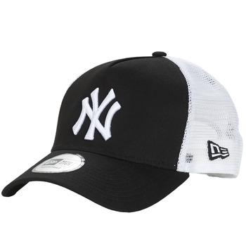 Textil kiegészítők Baseball sapkák New-Era CLEAN TRUCKER NEW YORK YANKEES Fekete  / Fehér
