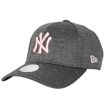 Textil kiegészítők Női Baseball sapkák New-Era ESSENTIAL 9FORTY NEW YORK YANKEES Szürke / Rózsaszín