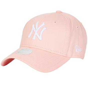 Textil kiegészítők Női Baseball sapkák New-Era ESSENTIAL 9FORTY NEW YORK YANKEES Rózsaszín