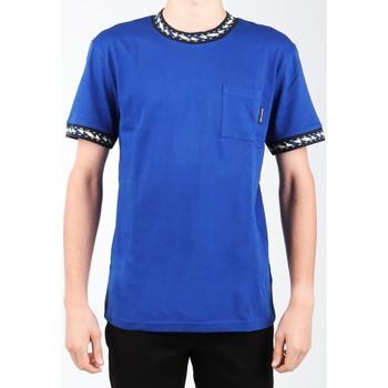 Ruhák Férfi Rövid ujjú pólók DC Shoes T-shirt DC EDYKT03372-BYB0 granatowy
