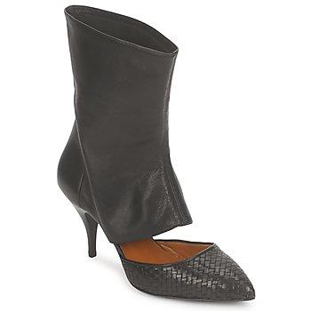 Cipők Női Bokacsizmák Stéphane Kelian IVAN Fekete