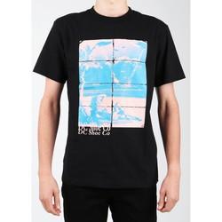 Ruhák Férfi Rövid ujjú pólók DC Shoes T-shirt DC EDYZT03746-KVJ0 czarny