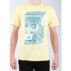 Ruhák Férfi Rövid ujjú pólók DC Shoes T-shirt DC SEDYZT03769-YZL0 żółty