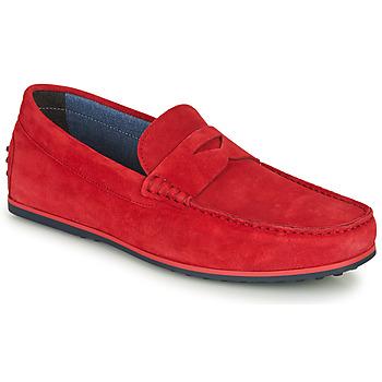 Cipők Férfi Mokkaszínek André SKY Piros