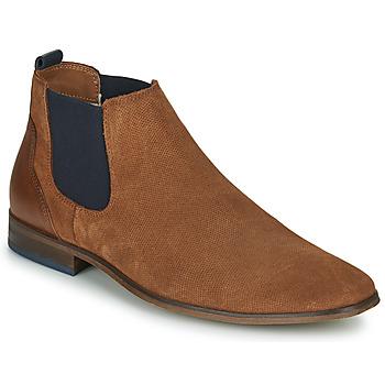 Cipők Férfi Oxford cipők André WALOU Konyak