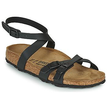 Cipők Női Szandálok / Saruk Birkenstock BLANCA Fekete