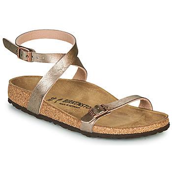 Cipők Női Szandálok / Saruk Birkenstock DALOA Bronz