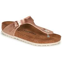 Cipők Női Lábujjközös papucsok Birkenstock GIZEH Rózsaszín / Arany