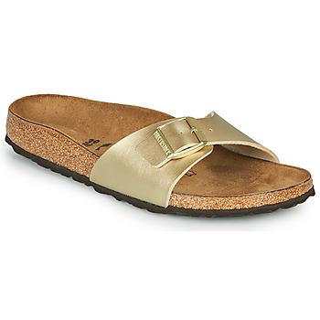 Cipők Női Papucsok Birkenstock MADRID Arany / Arany