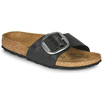 Cipők Női Papucsok Birkenstock MADRID BIG BUCKLE Szürke / Sötét