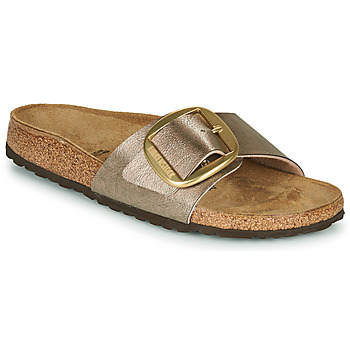 Cipők Női Papucsok Birkenstock MADRID BIG BUCKLE Könnyed / Tópszínű / Bronz