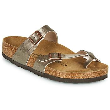 Cipők Női Papucsok Birkenstock MAYARI Bronz