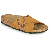 Cipők Női Papucsok Birkenstock SIENA LEATHER Teve