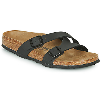 Cipők Női Papucsok Birkenstock YAO BALANCE Fekete