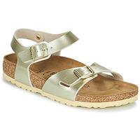 Cipők Lány Szandálok / Saruk Birkenstock RIO Arany