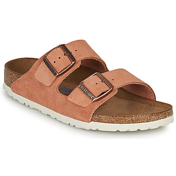Cipők Női Papucsok Birkenstock ARIZONA SFB LEATHER Rozsda