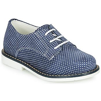 Cipők Lány Oxford cipők André KYLIE Tengerész