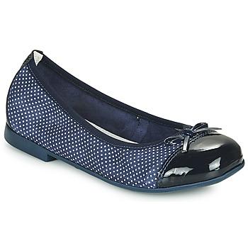 Cipők Lány Balerina cipők  André PIA Tengerész