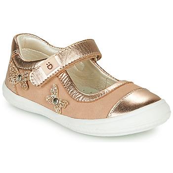 Cipők Lány Balerina cipők  André ORIANNE Rózsaszín