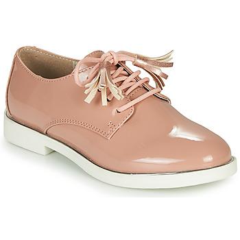 Cipők Lány Oxford cipők André ROSINE Rózsaszín