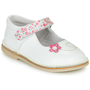 Cipők Lány Balerina cipők  André ISABELLA Fehér