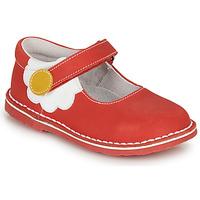 Cipők Lány Balerina cipők  André PAQUERETTE Piros