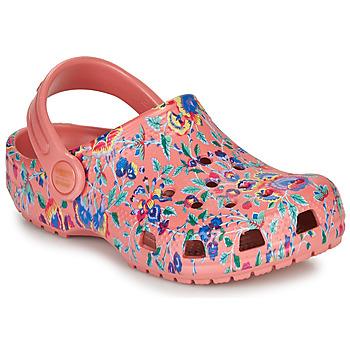 Cipők Női Klumpák Crocs LIBERTY LONDON X CLASSIC LIBERTY GRAPHIC CLOG K Rózsaszín
