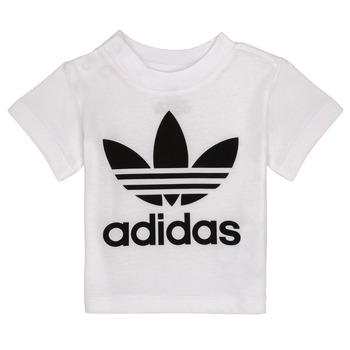 Ruhák Gyerek Rövid ujjú pólók adidas Originals MAELYS Fehér
