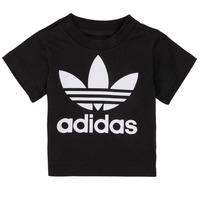 Ruhák Gyerek Rövid ujjú pólók adidas Originals MARGOT Fekete
