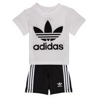 Ruhák Gyerek Együttes adidas Originals CAROLINE Fehér / Fekete
