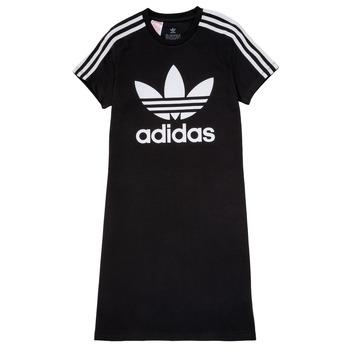 Ruhák Lány Rövid ruhák adidas Originals SALOME Fekete