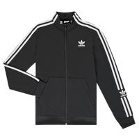 Ruhák Fiú Melegítő kabátok adidas Originals MARIEME Fekete